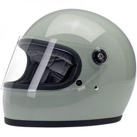 Helmets BILTWELL GRINGO S FULL FACE HELMET METALLIC SAGE GREEN