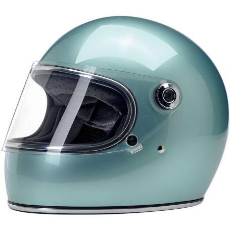 Helmets BILTWELL GRINGO S FULL FACE HELMET METALLIC SEA FOAM