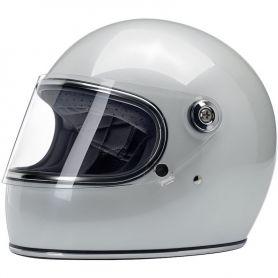 Helmets BILTWELL GRINGO S FULL FACE HELMET METALLIC PEARL WHITE