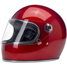 Casques BILTWELL CASQUE BILTWELL GRINGO S METALLIC CANDY ROUGE