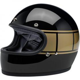 Helmets BILTWELL GRINGO HOLESHOT FULL FACE HELMET BLACK/GOLD