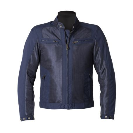 Men's Jackets HELSTONS HELSTONS JACKET SPRING FABRIC MESH BLUE