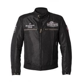 Men's Jackets HELSTONS HELSTONS JACKET INDY FABRIC MESH BLACK-BLACK