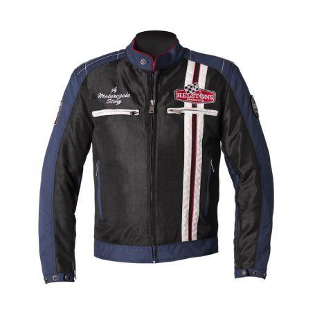 Men's Jackets HELSTONS HELSTONS JACKET INDY FABRIC MESH BLUE-BLUE