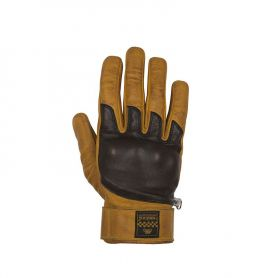 Men's Gloves HELSTONS HELSTONS GLOVES WOLF SUMMER LEATHER GOLD-BROWN