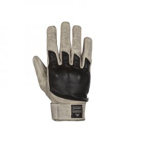 Men's Gloves HELSTONS HELSTONS GLOVES WOLF SUMMER LEATHER BEIGE-BLACK