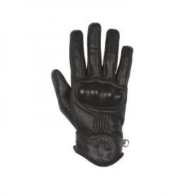 Men's Gloves HELSTONS HELSTONS GLOVES SUN SUMMER LEATHER BLACK