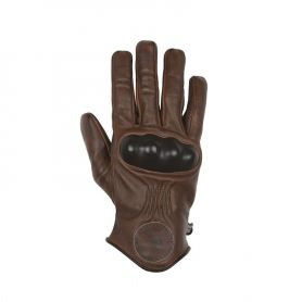 Men's Gloves HELSTONS HELSTONS GLOVES SUN SUMMER LEATHER TAN-BLACK
