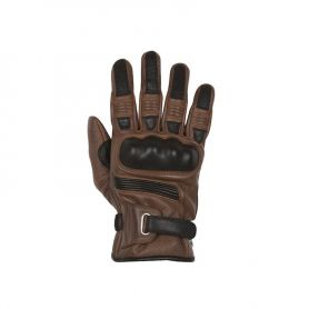 Men's Gloves HELSTONS HELSTONS GLOVES STRADA SUMMER SOFT LEATHER TAN-BLACK