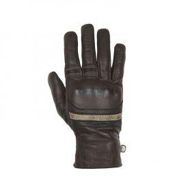 Men's Gloves HELSTONS HELSTONS GLOVES MORA SUMMER LEATHER BROWN-BLACK-BEIGE