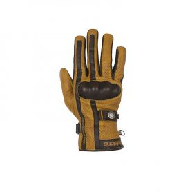 Men's Gloves HELSTONS HELSTONS GLOVES EAGLE SUMMER LEATHER GOLD-BROWN