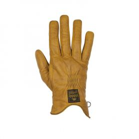 Men's Gloves HELSTONS HELSTONS GLOVES CONDOR SUMMER LEATHER GOLD-BROWN
