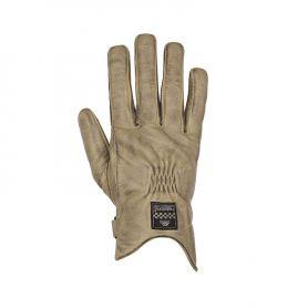 Men's Gloves HELSTONS HELSTONS GLOVES CONDOR SUMMER LEATHER BEIGE-BLACK
