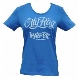 Tee-Shirts OILY RAG OILY RAG MOTOR CO TEE SHIRT FEMME IM-OR-105L