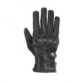 HELSTONS GLOVES EAGLE SUMMER LEATHER BLACK