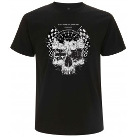 Tee-Shirts Hommes OILY RAG T-SHIRT OILY RAG SKULL ET COMPTEUR SMITH OR-2