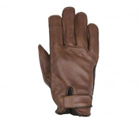 HELSTONS GLOVES HIRO SUMMER SOFT LEATHER TAN-BLACK