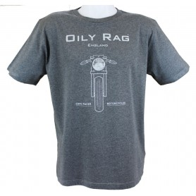 Tee-Shirts Hommes OILY RAG CAFE RACER OILY RAG TEE SHIRT OR-70