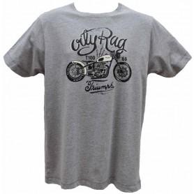 Tee-Shirts Hommes OILY RAG BOBBER TRIUMPH OILY RAG TEE SHIRT OR-84