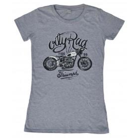 Tee-Shirts Femmes OILY RAG T-SHIRT OILY RAG BOBBER TRIUMPH FEMME OR-84L