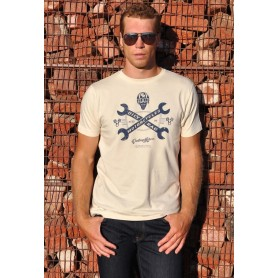 Tee-Shirts Hommes OILY RAG VINTAGE MOTORS OILY RAG TEE SHIRT IM-OR-87