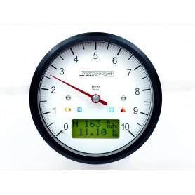 Compteurs MOTOGADGET MOTOGADGET MOTOSCOPE CLASSIC 80MM 10000T NOIR 2003050