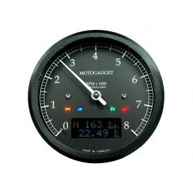 Comptes Tours MOTOGADGET MOTOGADGET CHRONOCLASSIC 8 BLACK LCD 2004059
