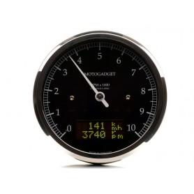 Comptes Tours MOTOGADGET MOTOGADGET CHRONOCLASSIC 10 BLACK LCD 2004061