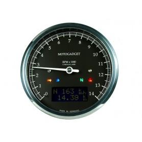 Tachometers MOTOGADGET MOTOGADGET CHRONOCLASSIC 14 BLACK LCD 2004066