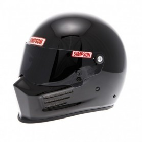 Casques SIMPSON CASQUE SIMPSON BANDIT NOIR BRILLANT IM-420BANDIT-NB