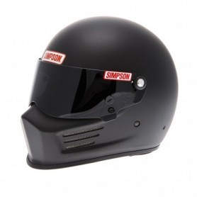 Casques SIMPSON CASQUE SIMPSON BANDIT NOIR MAT IM-420BANDIT-NM