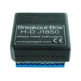 Electricity MOTOGADGET MOTOGADGET MSP BREAKOUT BOX J1850 TWINCAM 1003113