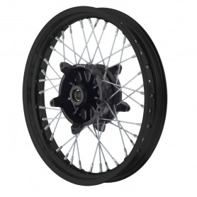 Roues ALPINA ALPINA ROUES AV A RAYONS CERCLAGE ALU TUBELESS 3.50 X 17 IM-TB406