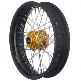 Roues ALPINA ALPINA ROUES AV A RAYONS CERCLAGE ALU TUBELESS 3.5 X 17 IM-TB412