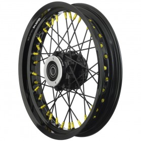 Roues ALPINA ALPINA ROUES AV A RAYONS CERCLAGE ALU TUBELESS 3 X 18 IM-TB425