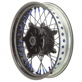 Roues ALPINA ALPINA ROUES AV A RAYONS CERCLAGE CARBONE TUBELESS 3.50 X 17 IM-TB500