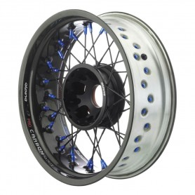 Roues ALPINA ALPINA ROUES AR A RAYONS CERCLAGE CARBONE TUBELESS 5.50 X 17 IM-TB501