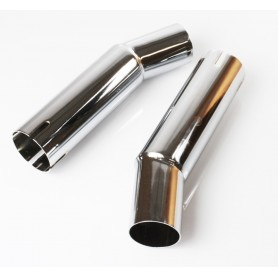 Mufflers Accessories BLVD.966 TUBES RACCORD SILENCIEUX DEPORTE BLVD.966 TRACC-170-40