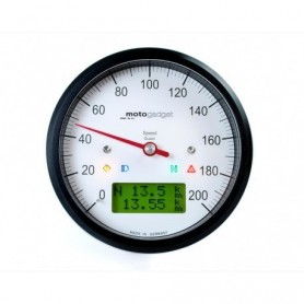 Counters MOTOGADGET MOTOGADGET MOTOSCOPE SPEEDO BLACK 2003080