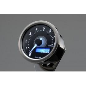 Tachometers DAYTONA DAYTONA COMPTES TOURS VELONA A LED BLANC 8 000 TR / MIN 85835