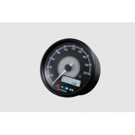 Compteurs DAYTONA DAYTONA VELONA 80MM 200 KMH COMPTEUR VITESSE ET RPM LCD IM-87790