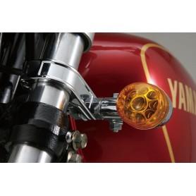 Supports Clignotants DAYTONA DAYTONA SUPPORT DE CLIGNOTANT POUR TUBE DIAMETRE 41MM. COULEUR CHROME IM-69371