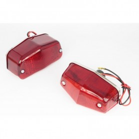 Brake Lights BLVD.966 FEUX STOP POUR LUCAS 12V GRAND MODELE BLVD.966 FS-LUCAS-GM