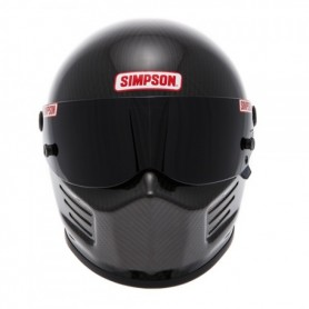 Casques SIMPSON CASQUE SIMPSON BANDIT CARBONE IM-420BANDIT-CARB