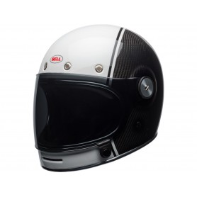 Casques BELL CASQUE BELL BULLITT CARBON GLOSS BLANC/CARBON PIERCE