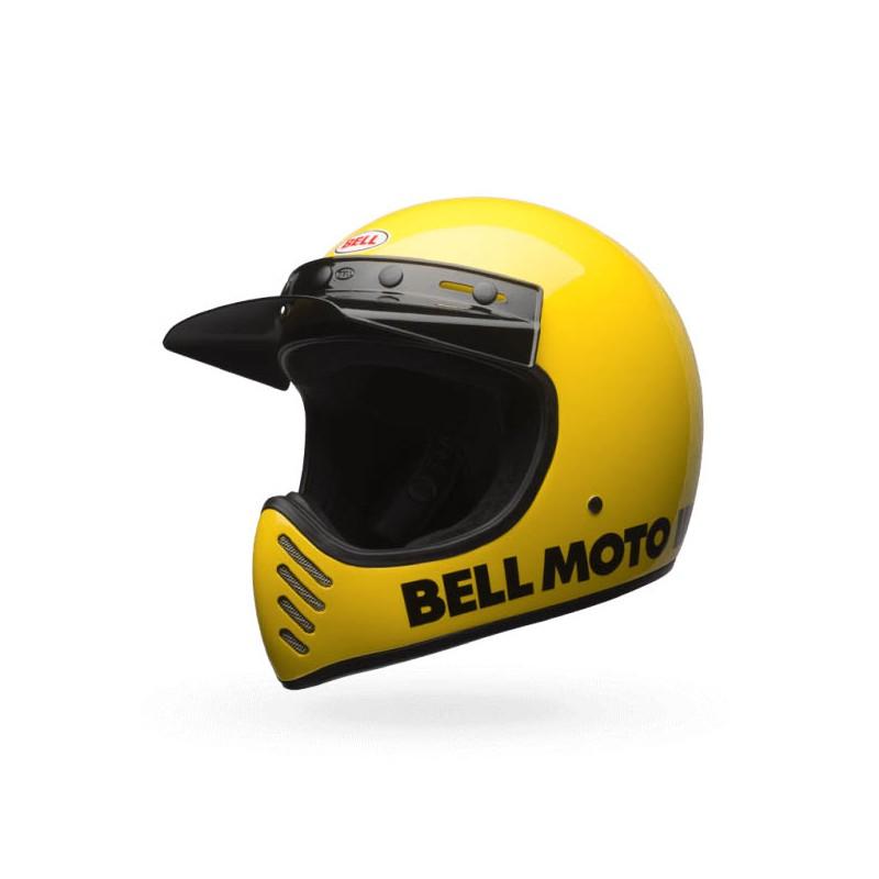 casque bell moto 3 classic jaune apr s plusieurs d cennies le casq. Black Bedroom Furniture Sets. Home Design Ideas