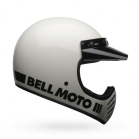 Casques BELL CASQUE BELL MOTO-3 CLASSIC BLANC 7081045