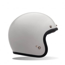 Casques BELL CASQUE BELL CUSTOM 500 SOLID VINTAGE BLANC 7050084