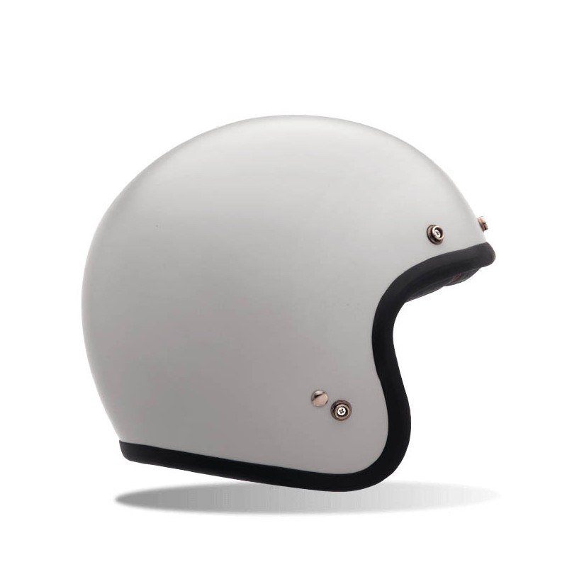 casque bell custom 500 solid vintage blanc plus qu un simple clin d. Black Bedroom Furniture Sets. Home Design Ideas