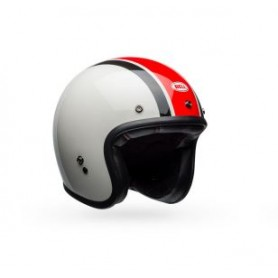 Casques BELL CASQUE BELL CUSTOM 500 ACE CAFÉ STADIUM GLOSS SILVER/RED/BLACK 7095629